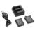 2x1250 mAh Li-ion + USB Cargador Doble Kit para Garmin VIRB 30 Cámara OS864