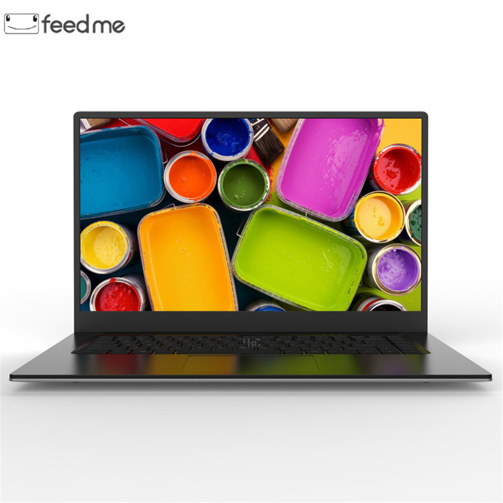 feed me 4GB Ram 64GB EMMC 15.6 inch Intel Quad Core CPU Windows 10 System 1920*1080P IPS Screen Netbook Laptop Notebook Computer