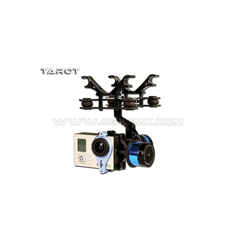 Tarot-RC T-2D Brushless Gimbal Camera PTZ Mount FPV Rack TL68A08 for GoPro Hero 3 RC Multicopter Drone Aerial Photography F09990 tarot rc flir gimbal ptz pot with flir640pro camera without camera tl04flir tl05flir for rc drone quadcopter