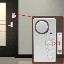 LESHP Magnetische Sensor Wireless Alarm System Tür Fenster Motion Einbruch Eintrag Sicherheit Home Bewachung 105dB mit led-anzeige