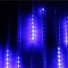 Led-Light Meteor Shower Wedding-Garden-Decoration White 100-240V Tube for Christmas Eu/Us-Plug
