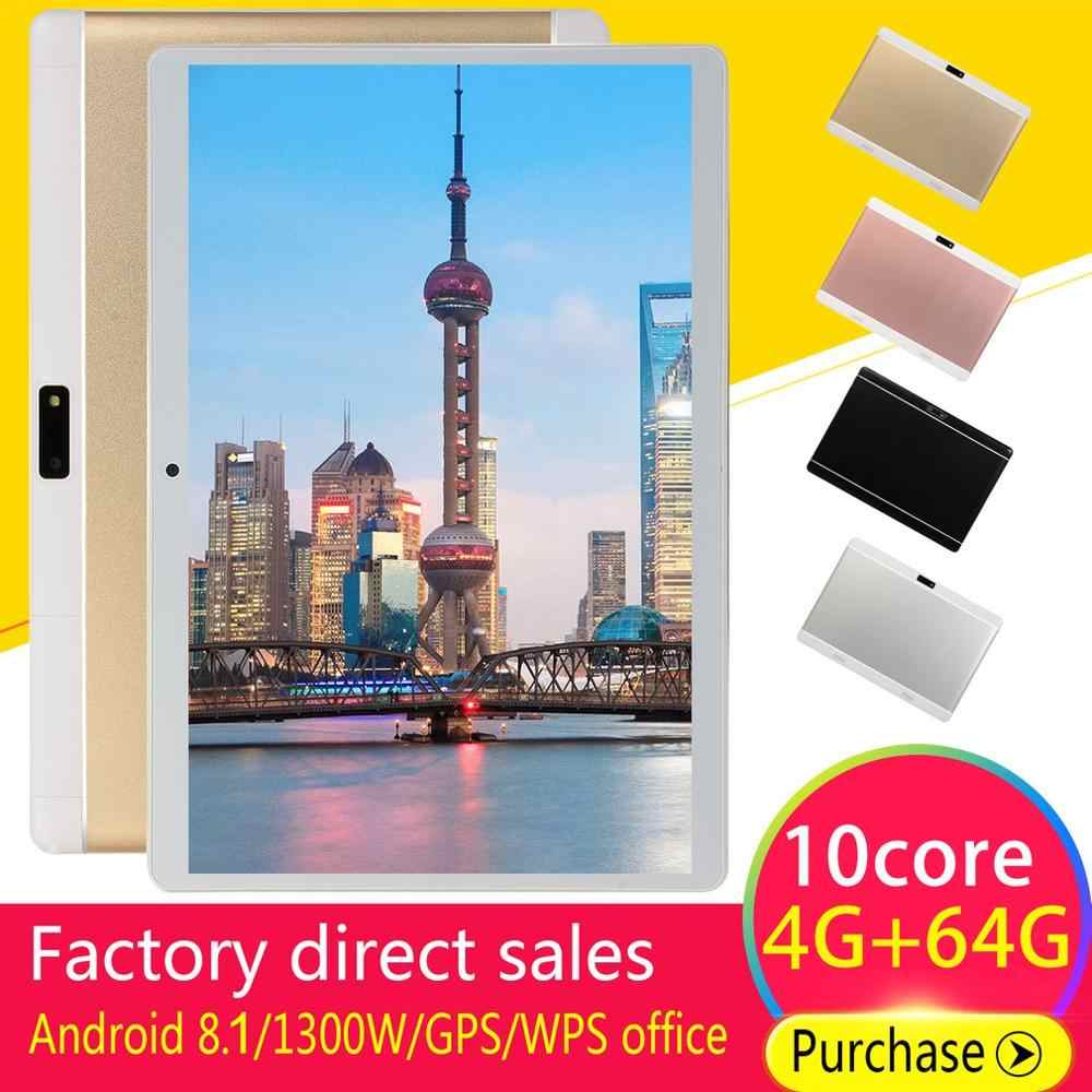 10.1 inch for Android 8.1 Classical Tablet PC 4GB+64GB Ten-Core WIFI tablet 13.0MP Camera