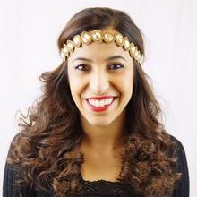 Fashion Women's Headwears Gorgeous DIY Pearl Bandanas Wedding Party Hair Accessories  Bandage Headbands for Pretty Ladies
