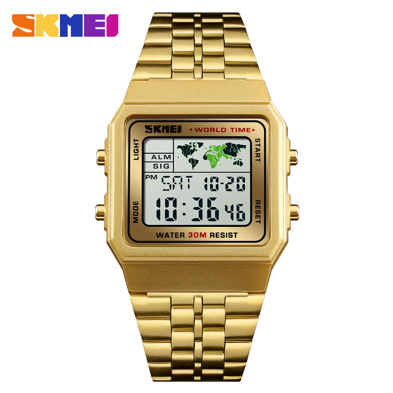 Fashion Men Watch SKMEI Brand Digital Sports Watches Waterproof Reloj Chronograph Men Wristwatches Relogio Masculino купить в Москве 2019