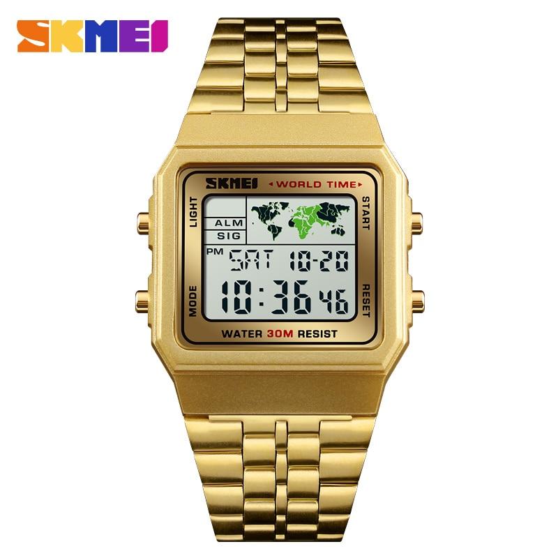 Fashion Men Watch SKMEI Brand Digital Sports Watches Waterproof Reloj Chronograph Men Wristwatches Relogio Masculino все цены