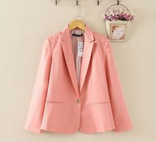 Notched Blazer Working Tops Casual Coats Outwear