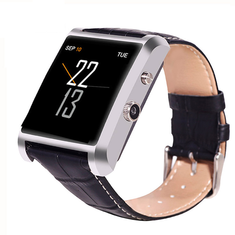 free ship DM08 Bluetooth Smart Watch Fashion Wrist font b Smartwatch b font Men Wristwatch Wearable