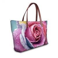 Women Famous Brand Designer Floral Print Handbag Casual Ladies Top Handle Shoulder Travel Bags Mujer Bolsas