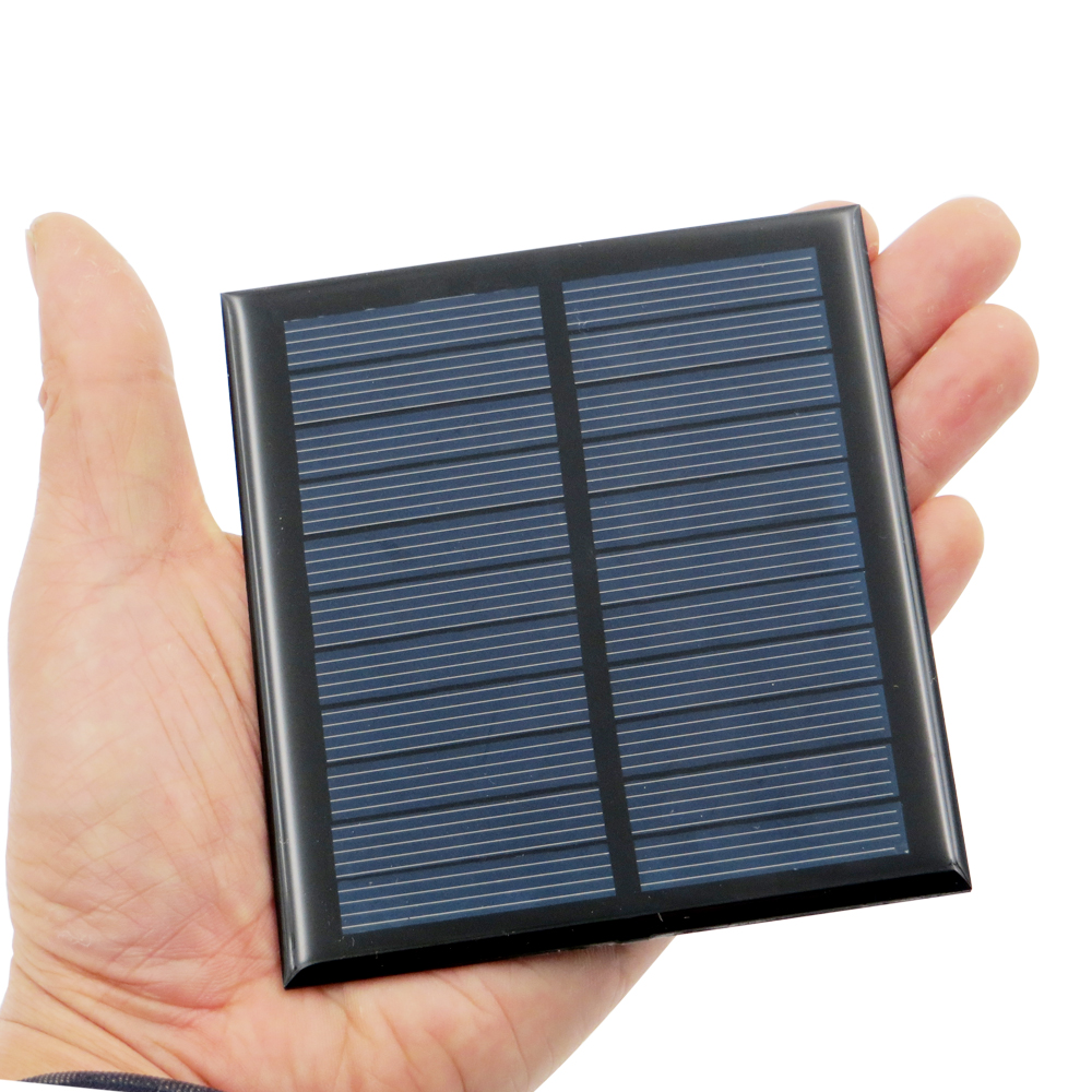 1pcs x 5.5V 1W Solar Panel Portable Mini Sunpower DIY Module Panel System For Solar Lamp Battery Toys Phone Charger Solar Cells