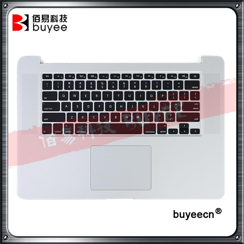 Original 15 A1398 Topcase 2013 2014 For Macbook Pro Retina Top Cover US Keyboard Backlight Trackpad