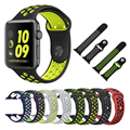 Flexible breathable sports Silicone Band for Apple Watch Series 2 Nike+ high quality Bracelet Strap for Apple Watch 42mm 38mm