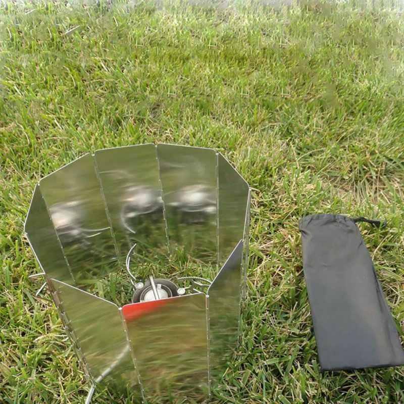 Сильный 9 пластин Ветер щит дефлектор складной ветрозащитный экран Защита Открытый Кемпинг, барбекю плита туристическая горелка защита печи