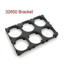 Abrazaderas de plástico antivibración de seguridad para celdas, soporte de batería 32650 2x3 para baterías 32650