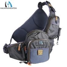 Maximumcatch Portable Multi-Purpose Fly Fishing Sling Pack Fishing Tackle Bag Fishing Sling Bag