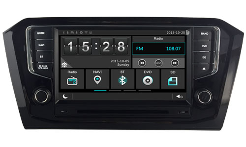 Car dvd Player for Volkswagen VW Passat B8 Magotan 2015 2016 2017 wince 6 0 256MB
