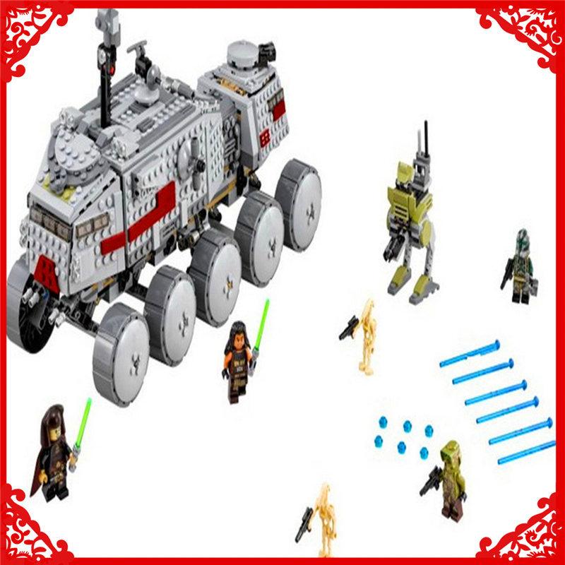 933Pcs Star Wars Clone Turbo Tank Model Building Block Toys LEPIN 05031 Educational Gift For Children Compatible Legoe 75151 dayan gem vi cube speed puzzle magic cubes educational game toys gift for children kids grownups