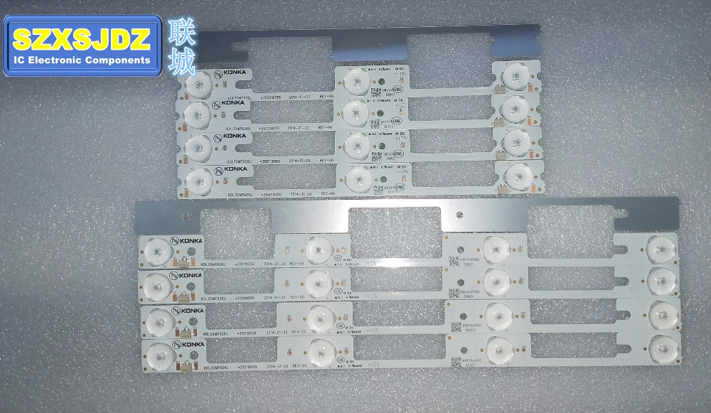 100 new 32 inch backlight strip 100PCS 50PCS 4LED 50PCS 3LED 1LED 6V KDL32MT626U 35019055 35019056