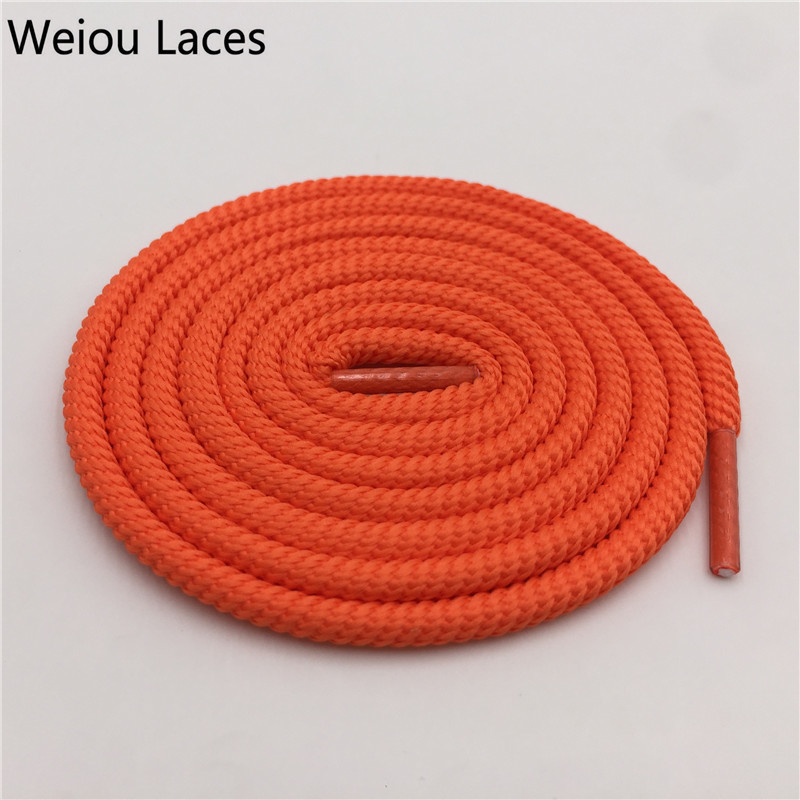 Weiou 5mm Polyester Spiral Round Shoelaces For Outdoor Mountaineering Bootlaces Sports Basketball Shoes Laces Clothes Shoestring
