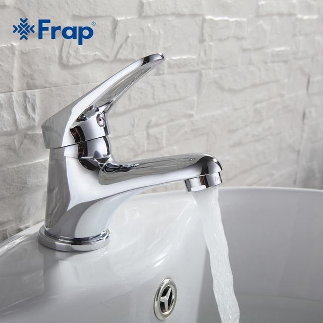 FRAP mini Stylish elegant Bathroom Basin Faucet Brass Vessel Sink ...