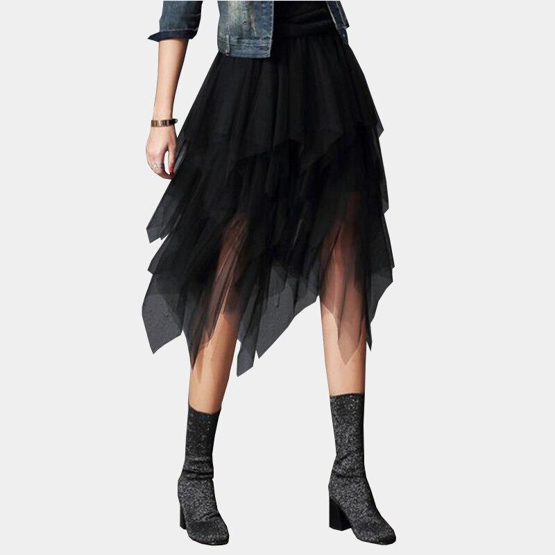 new product ee97e bc483 Günstige Kaufen 2019 Koreanische Mode Lange Röcke Frauen ...