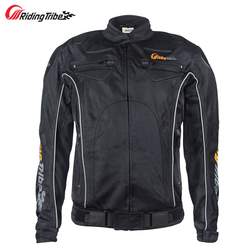 Riding Tribe 2017 New Motocross Protective Men's Jacket For Motocyclist Motorcycle Rider Motorbike Clothing Body Guards JK-08