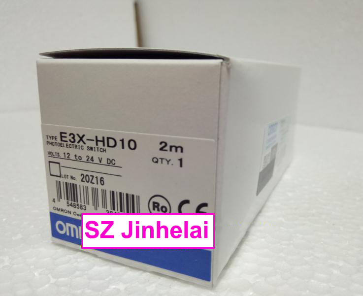 E3X-HD10  New and original ORMON  Photoelectric switch   Optical fiber amplifier    12-24VDC   2M wll180t n432 wll180t l432 new and original sick photoelectric switch optical fiber amplifier