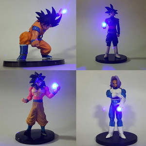 Toys Trunks Figurine Led-Light Night-Lamp Dragon-Ball-Z Gift Christmas Kids Super Model