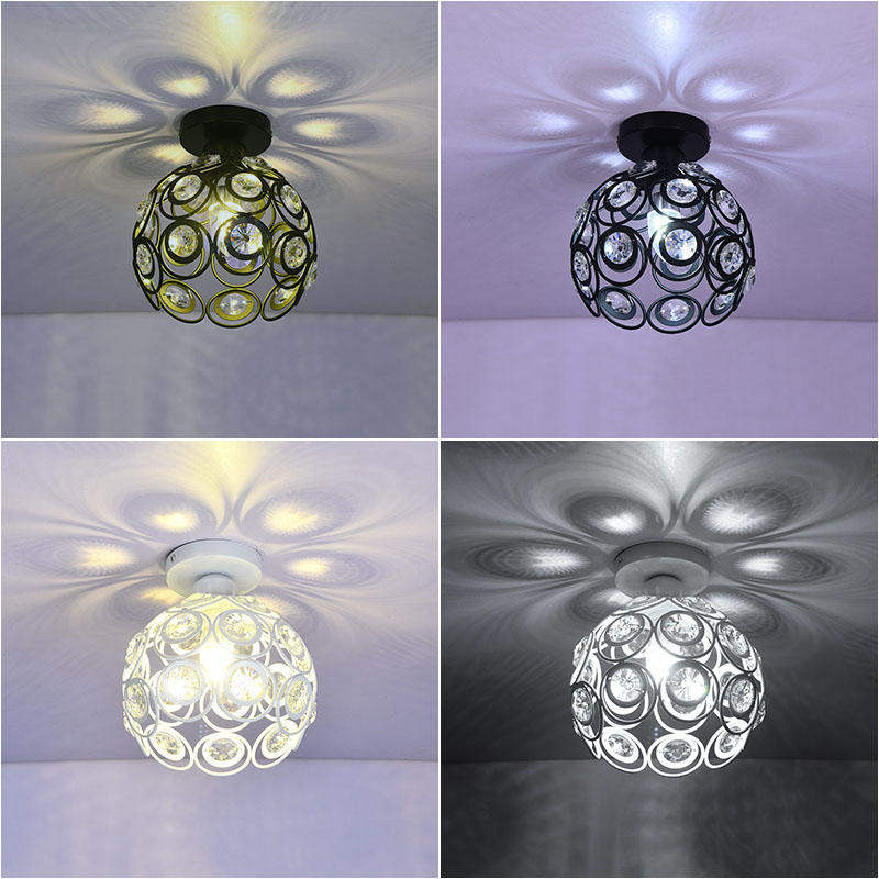 type ceiling lamps, aisle lights round corridor lights balcony foyer porch lamp crystal chandelier stairs Restaurant