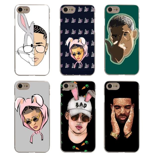official photos 69557 69119 US $1.55 40% OFF|Bad Bunny Maluma Ozuna Hip Hop Rapper Hard PC Black Phone  Case For iPhone X 10 5 5S 6 6S Plus 7 7 Plus 8 8 Plus Phone Cover-in ...