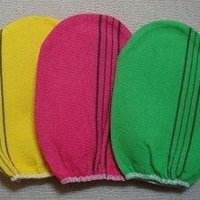 Полотенце «Италия» Корея перчатки Вискоза скраб рукавица скраб для тела перчатки Тесса отшелушивающие перчатки