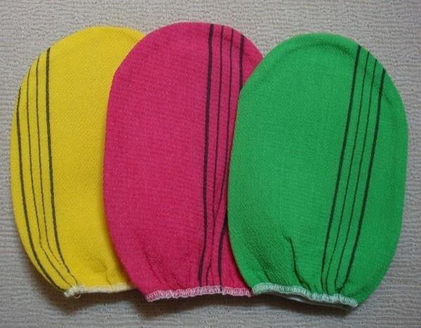 Korean Italy Towel Bulk 20p Exfoliating Bath Scrub Viscose Towel Made in Korea!!
