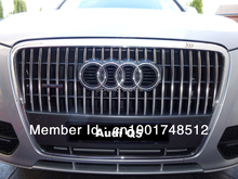 For Audi Q5 New Stainless steel Front Grille Trim 2010 2011 2012 ( 37 PCS / Set )