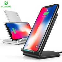 FLOVEME Wireless Charger For IPhone 8 X Plus 10W Wireless Charging QI Wireless Charger Fast For