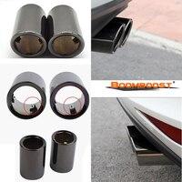 車の排気管マフラー先端ターボサウンドホイッスル車スタイリングオート用bmw 1980-2011 boomboost