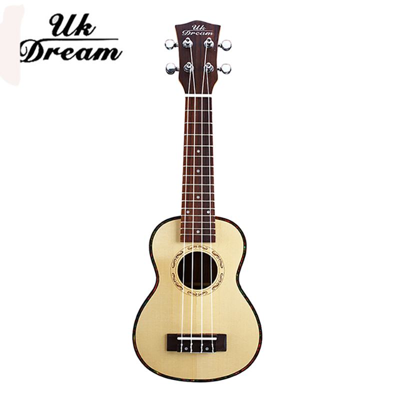 UK Dream 21 Acoustic Ukulele Sapele Ukelele 15 Fret 4 Strings Hawaii guitar High Quality Stringed Musical Instrument US-110 free shipping 26 inch 18 fret tenor cutaway acoustic guitar ukulele hawaii guitarra music instrument ukelele promotion