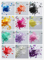 TCT 122 Star Shape Pearlescent Colors 3MM Size For Nail Art Decoration Nail Gel Body Art Makeup Face Painting Manual DIY