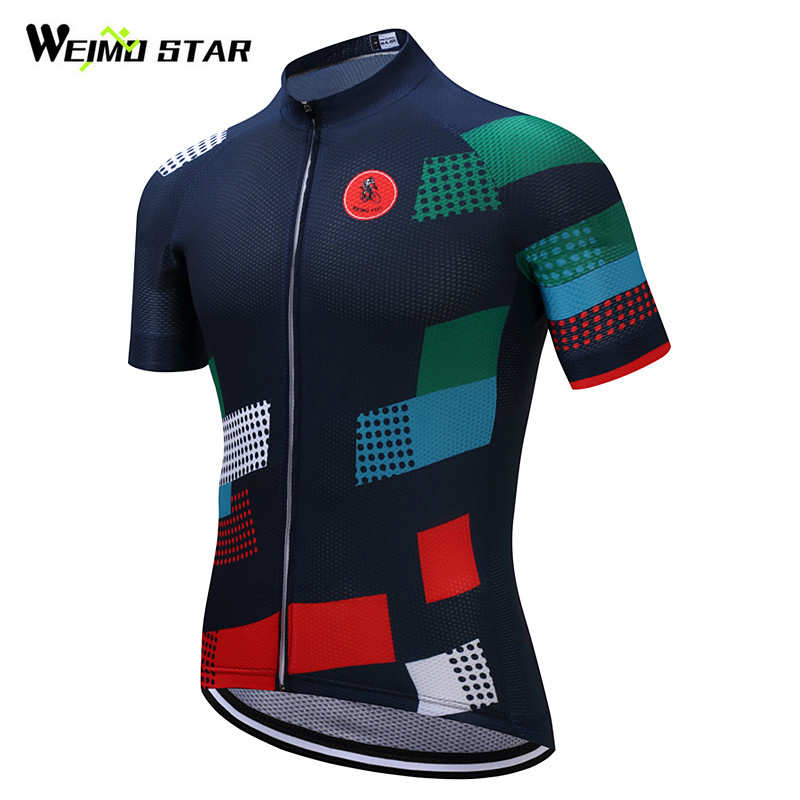 Weimostar Brand Cycling Jersey 2018 Pro Team Bike Jersey Shirt mtb Bicycle Cycling Clothing Roupa Ropa Maillot Ciclismo Hombre купить недорого в Москве