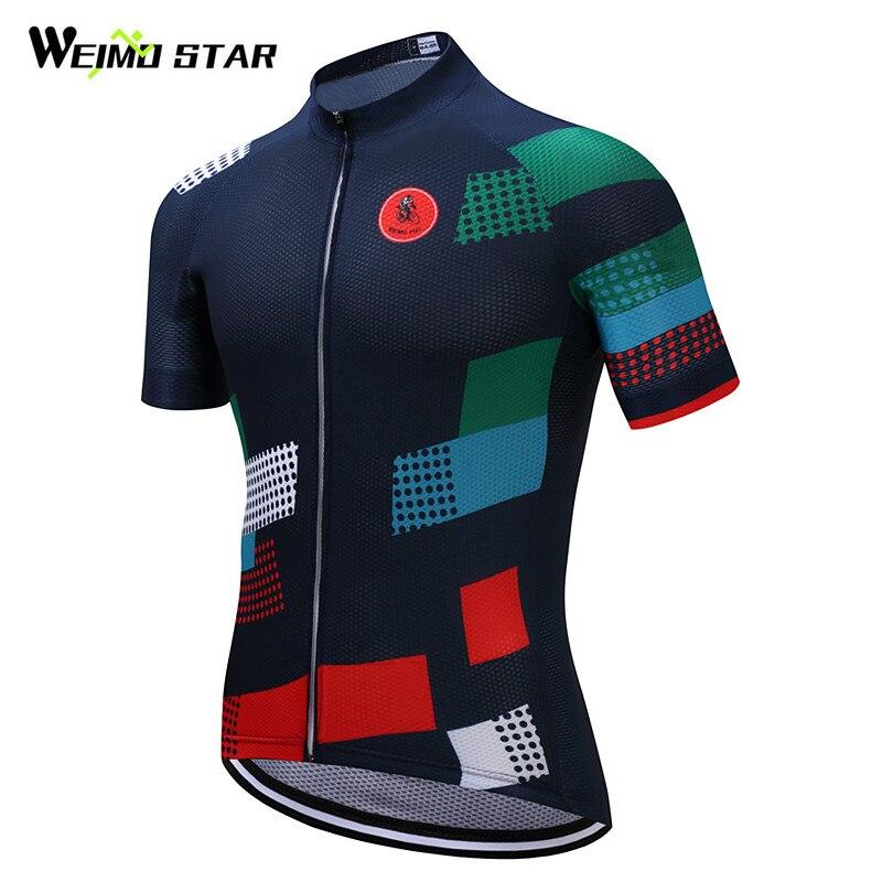 Weimostar Marke Radtrikot 2018 Pro Team Bike Jersey Hemd mtb Fahrrad Radfahren Kleidung Roupa Ropa Maillot Ciclismo Hombre