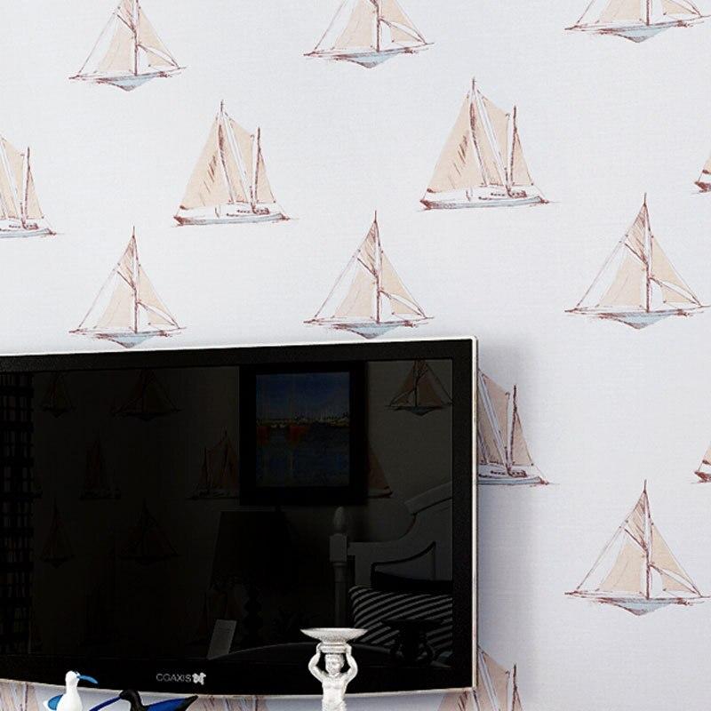 Beibehang Papel Parede дети Украшения в спальню обоев парусник Дизайн обоями Papel pintado росписи обои Контакт Бумаги
