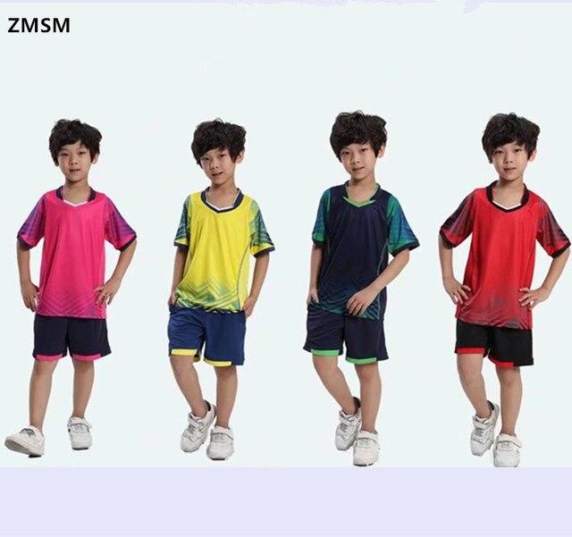 291e6c494 AXFAM 2017 Kids Soccer Jerseys kit perfect quality Team Sportswear  Customized Children Football Training suit Uniform al15023b
