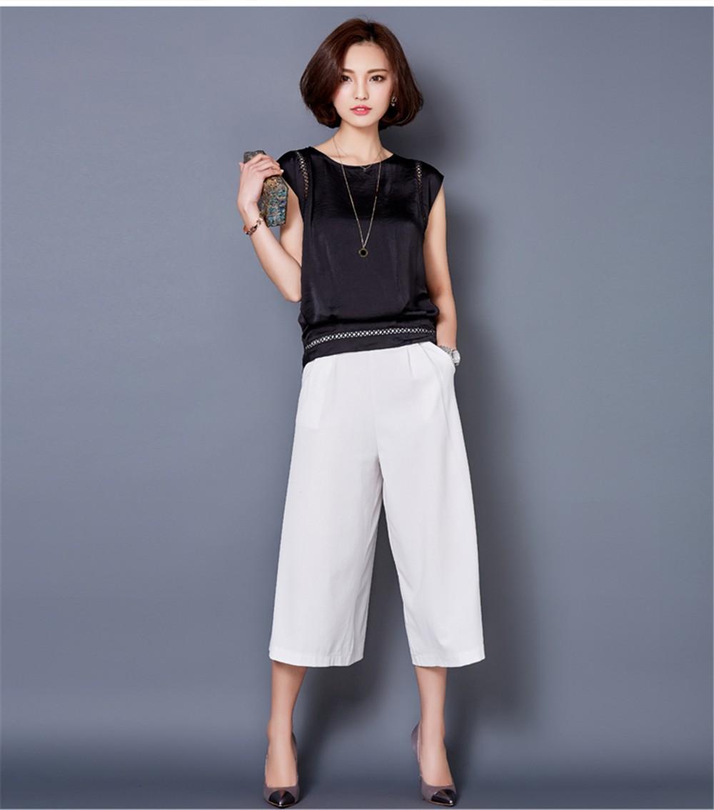 Big Size M-3XL Luxury Chiffon Tank Top For Women Summer Fashion Crop Tops Women\'s Sleeveless Tank Vest Tops Lady Sexy Camis (15)
