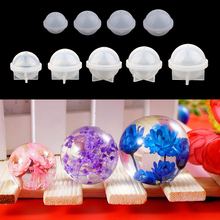 9 Sizes Silicone Round Sphere Balls Mould Resin Casting DIY Ornament Jewelry Making Mold 20/30/40/50/60/70/80/90/100mm