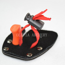 1PCS New Leather Finerstall For Archery Protective,For Target Shooting Recurve Bow Equipment+Free Shipping