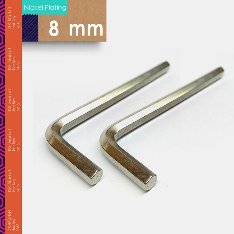 8mm, 5vnt / partija, šešiabriaunis raktas, šešiabriaunis raktas - Rankiniai įrankiai - Nuotrauka 1