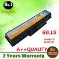 Atacado novo 6 células bateria do portátil para lenovo b450 b450a b450l series l09m6y21 l09s6y21 frete grátis