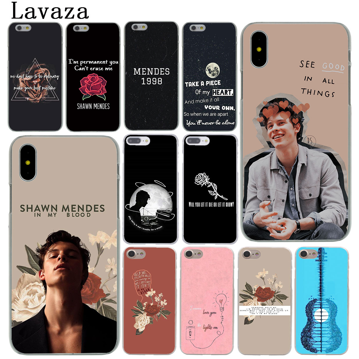US $1 94 24% OFF|Lavaza Pop singer Shawn Mendes Magcon 98 Hard Cover Case  for iPhone X XS Max XR 6 6S 7 8 Plus 5 5S SE 5C 4S 10 Phone Cases 8Plus-in