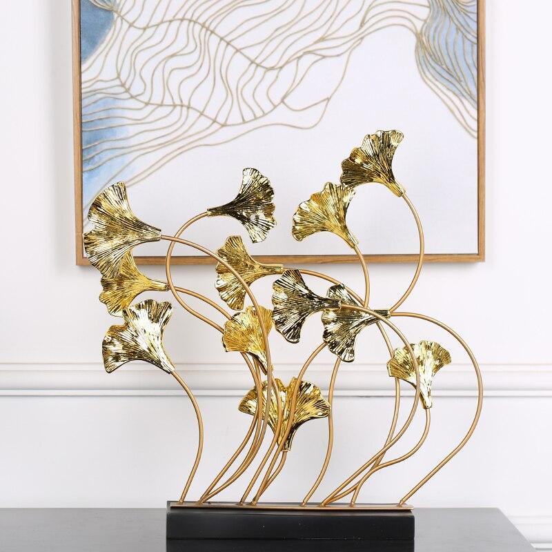 تمثال اوراق النبات الكلاسيكي ديكور و اكسسوارات