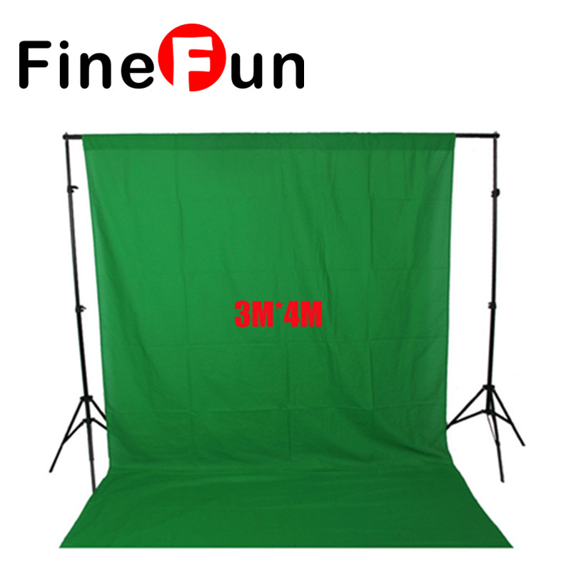 FineFun Photography Backdrops Green Screen 3*4m Photo Background for Photo Studio 10FT*13FT Backdrop for Camera photographic ashanks photography backdrops green screen 3 4m photo background for photo studio 10ft 13ft backdrop for camera fotografica