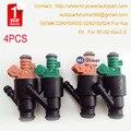 NEW 4pcs Original 0280150502/02801504 Flow Matched Fuel Injector Set For 95-02 Kia 2.0