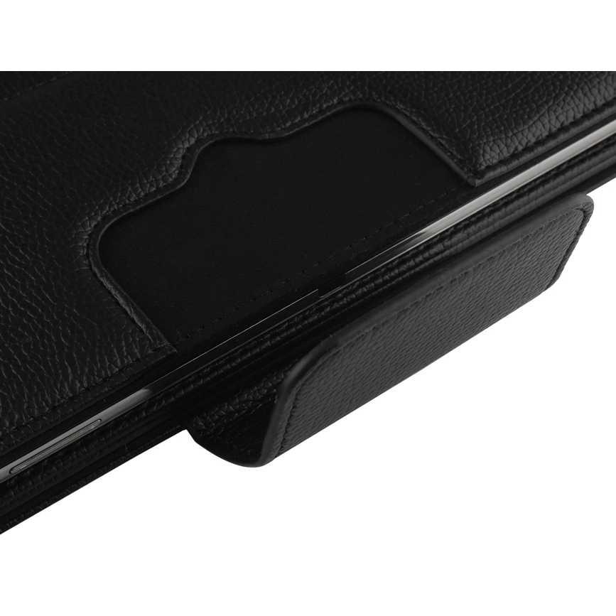 12 pulgadas tableta Universal inalámbrico Bluetooth teclado funda para ASUS Lenovo Huawei Acer 12 pulgadas tableta Tapa de cuero soporte + Stylus